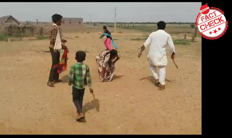 राजस्थान में एक नाबालिग लड़की के अपहरण का पुराना वीडियो फ़िर वायरल