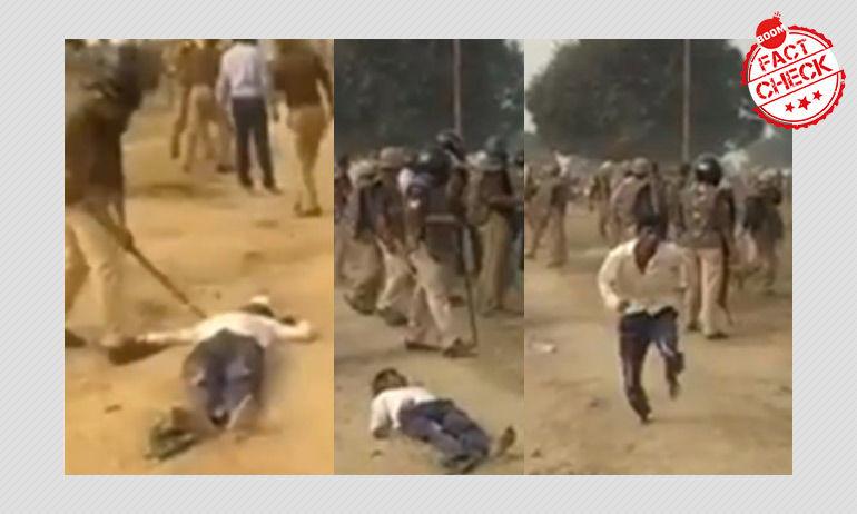 क्या ये सीएए के विरोधियों पर पुलिस द्वारा की गई कार्यवाही है?