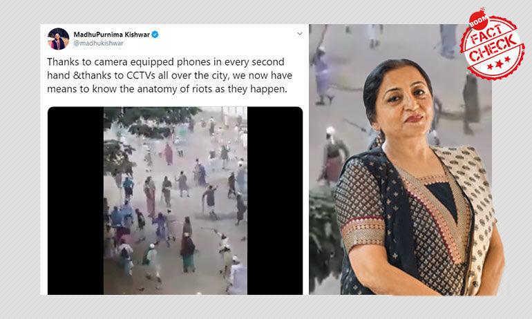 बांग्लादेश का वीडियो फिर वायरल, इस बार दिल्ली दंगों के नाम पर