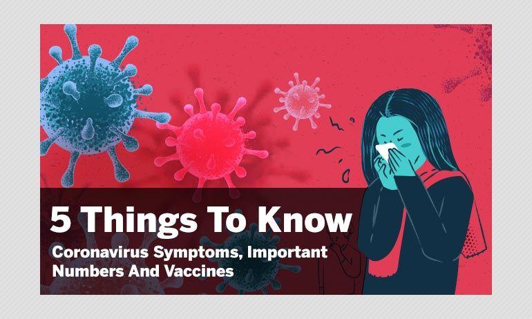 5 जरूरी बातें: कोरोनावायरस के लक्षण, हेल्पलाइन नंबर और वैक्सीन
