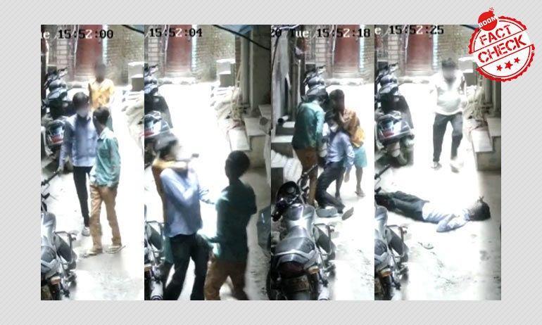 दिल्ली में हुई एक चोरी का वीडियो प्रवासी मज़दूरों पर फ़र्ज़ी आरोप के साथ वायरल