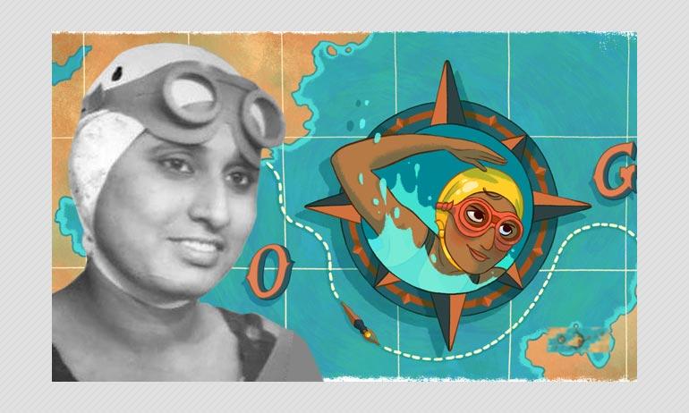 आज का गूगल डूडल आरती साहा के नाम