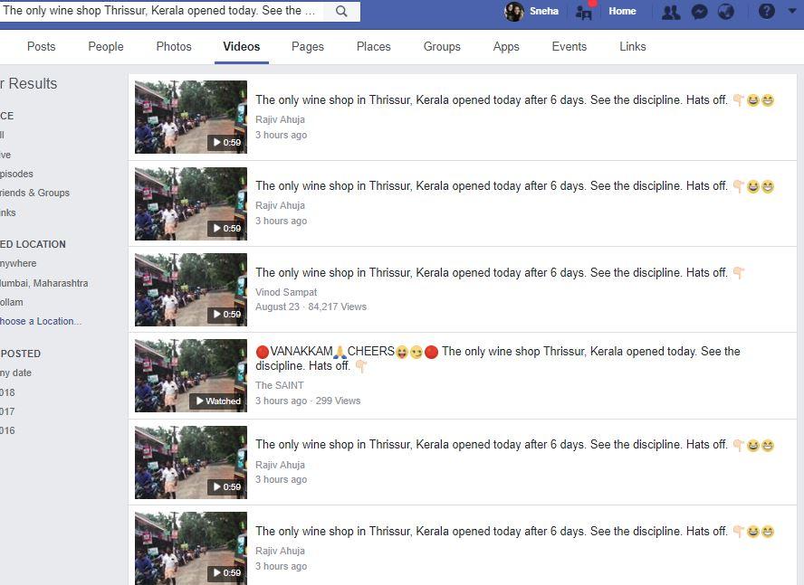 Thrissur facebook