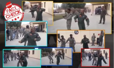 Abhinandan dancing with pak soldiers