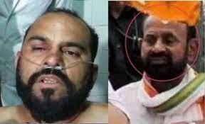 pic comparison of Tarun Gajjar and bearded man