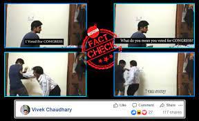 vote for congress prank