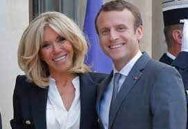 France's President and his wife