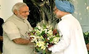 Manmohan Singh-Modi-Trips