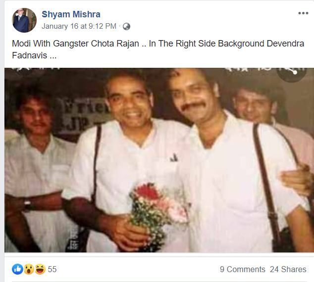 Viral post on FB